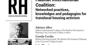 Radical Housing Journal Conversation with Adriana Allen