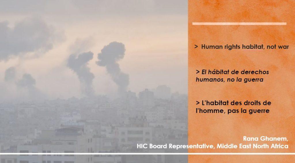Human Rights not war