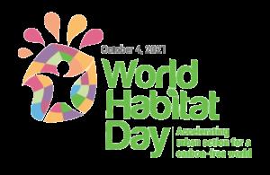 World Habitat Day 2021 Logo